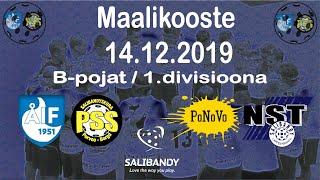 Maalikooste ÅIF/PSS - PoNoVo/NST (B-pojat 1.divisioona 14.12.2019)