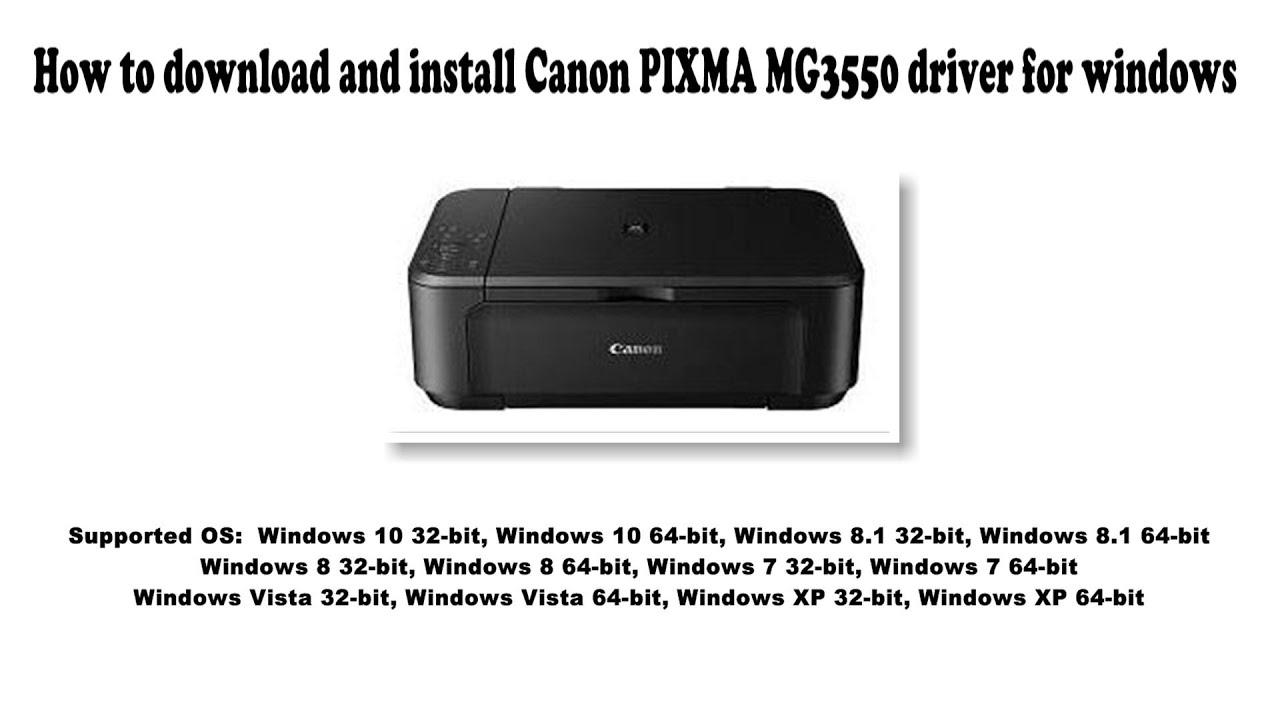 How to download and install Canon PIXMA MG20 driver Windows 20, 20.20, 20,  20, Vista, XP