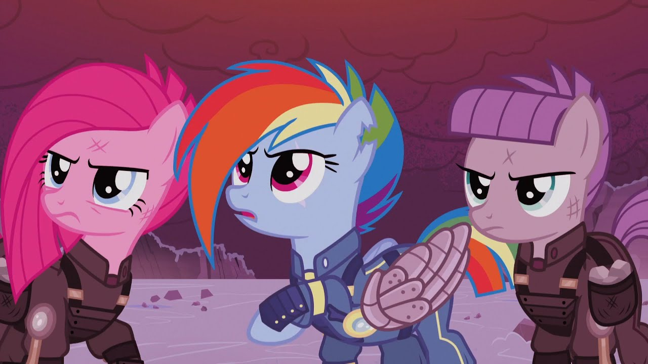 The War Between Celestia And King Sombra My Little Pony
