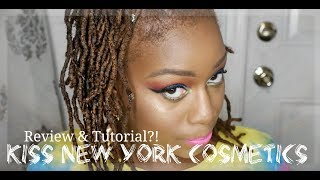 KISS New York Cosmetics Try Out and Review