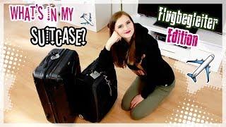 Ich packe meine Koffer! ✈ | Flugbegleiter Edition + Hacks