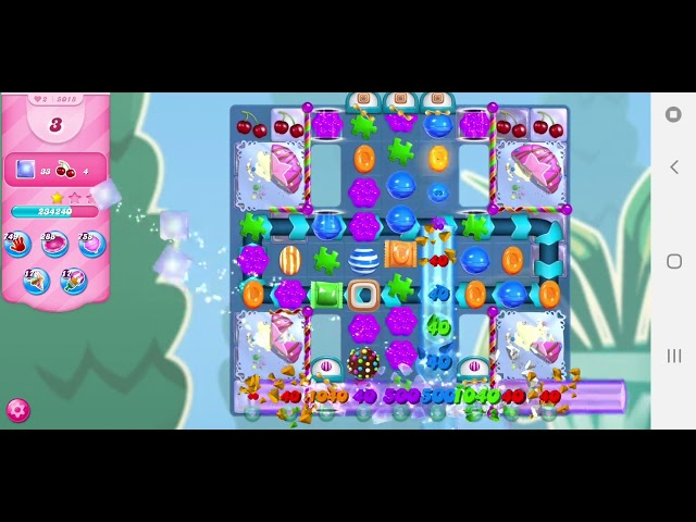 Candy Crush Saga level 5018