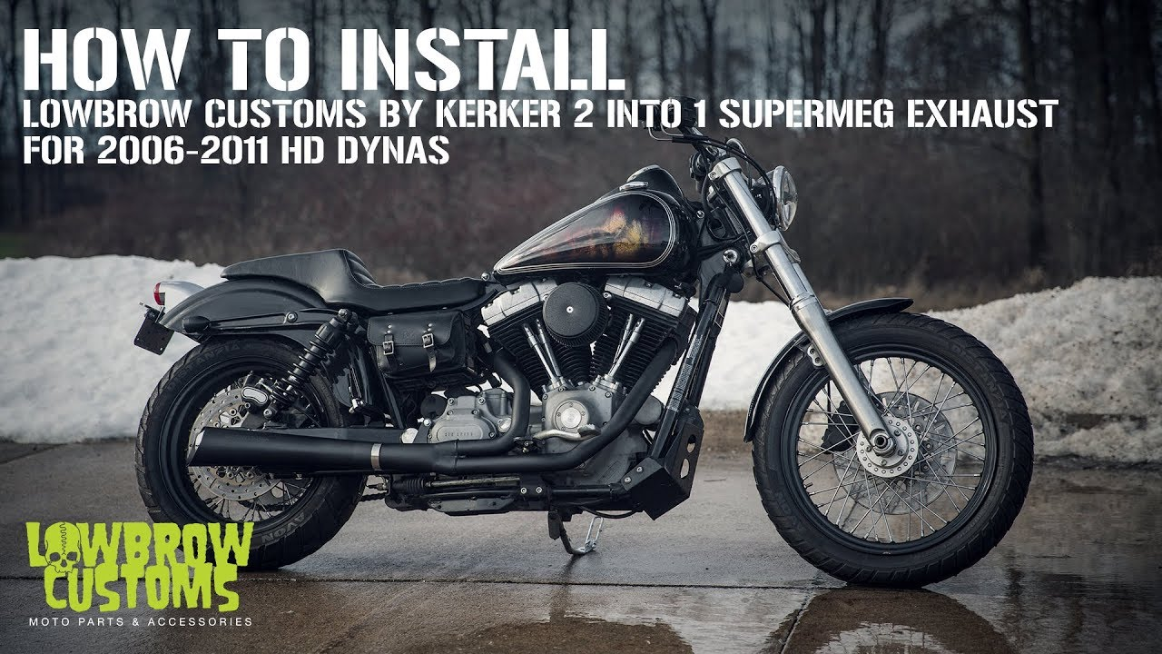 VIDEO: How to Install Lowbrow Customs by Kerker 2 into 1 SuperMeg