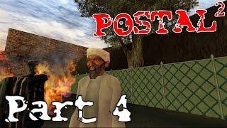 """Postal 2  ►""""Pajama Wearing Pagans"""" Part 4 ( Gameplay Playthrough / Walkthrough )"""