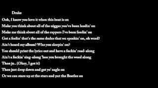 Fucking Problem - A$AP Rocky ft. Kendrick Lamar & Drake [Lyrics] |Download MP3| [Translate French]