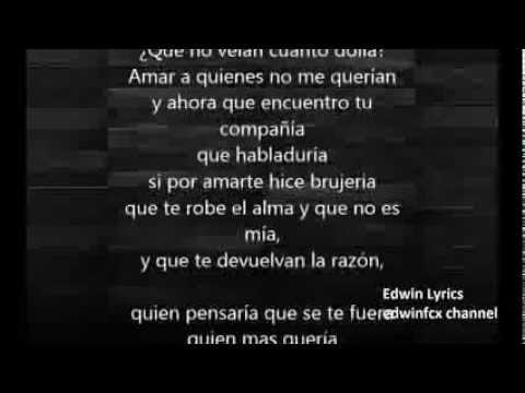El Varon De La Bachata No Es Brujeria Con Letra !!!