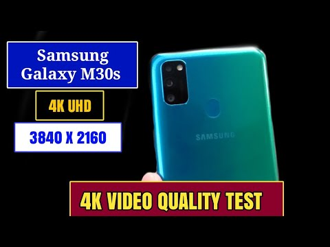 4k Ultra HD video Video quality test for samsung galaxy m30s rear 48MP Camera