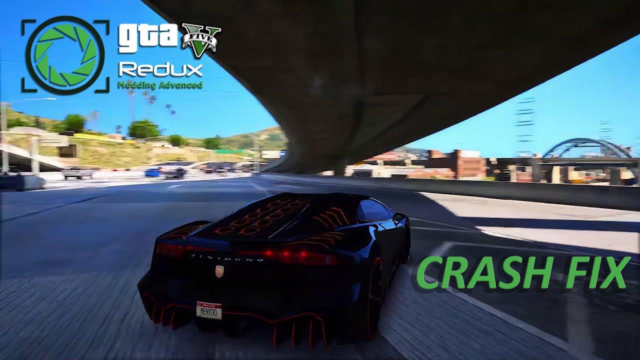 How To Fix GTA V Redux Mod Crash   ReShade Fix/Loading Crash Fix [2018]