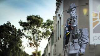 #BLACKANZAC (Time-lapse at 'the block' in Redfern)