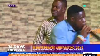 #14 DAYS PRAYER AND FASTING (9/07/19). DAY 9 EVENING