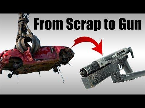Gun from Scrap Metal - Borzgun!