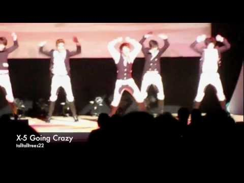 X-5 GOING CRAZY (Tokyo, 23/12/2011)