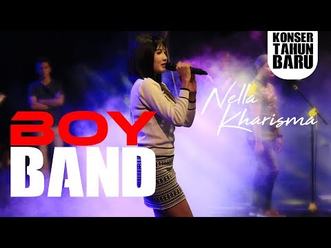 Nella Kharisma ft. Lagista - Boy Band [ KONSER TAHUN BARU ]