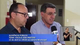 Boletim TV Câmara -  Audiência Pública sobre Escola sem Partido