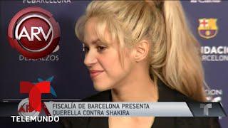 Shakira es acusada en Barcelona por evasión de impuestos | Al Rojo Vivo | Telemundo