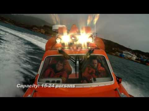 Norsafe Munin 1000 Fast Rescuecraft / Daughtercraft