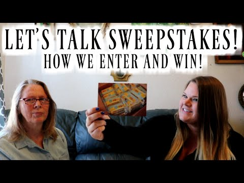 HOW TO ENTER AND WIN SWEEPSTAKES! | CHATTING ABOUT OUR HOBBY