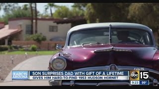 Son surprises dad with gift of a lifetime