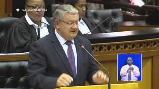 Debate in parliament: Removal of president - 5 April 2016