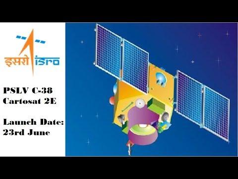 ISRO to launch 'Cartosat 2E' on board PSLV C38 on June 23