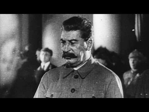 Stalin Purges Enemies and Friends Alike