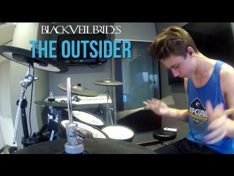 Black Veil Brides - The Outsider [Drum Cover] (New Song)
