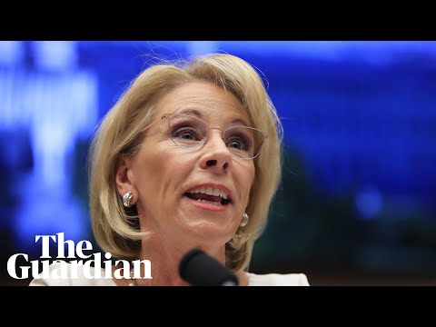 Betsy DeVos knew about dangers posed to transgender students before rolling back protections