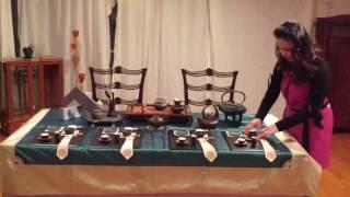 第16回 稲見和子テーブルコーディネート講座    中国茶を楽しみましょう! テーブルコーディネート 検索動画 29