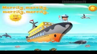 Children Songs: Row Row Row Your Boat - Nursery Rhymes / Kids Songs