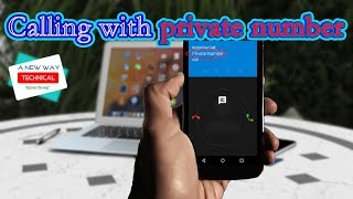 How to make private call on android   hide phone number caller id app   make phone number private