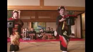 2011.4.9 熊本城・本丸御殿 春の宴 植木をどり (踊り)ザ・わらべ (唄...