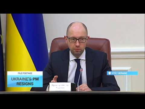Ukraine's Prime Minister Resigns: Yatsenyuk will make formal submission to parliament on Apr.12