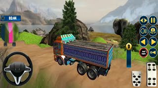 Real Indian Offroad Truck Driving Simulator 2020 - Conducción De Camiones 3D   Android Gameplay FHD. screenshot 4