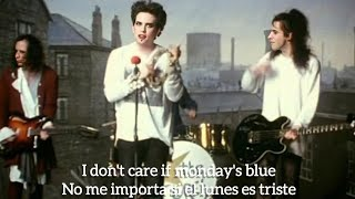 The Cure - Friday I'm in Love (official video) HD ingles/español