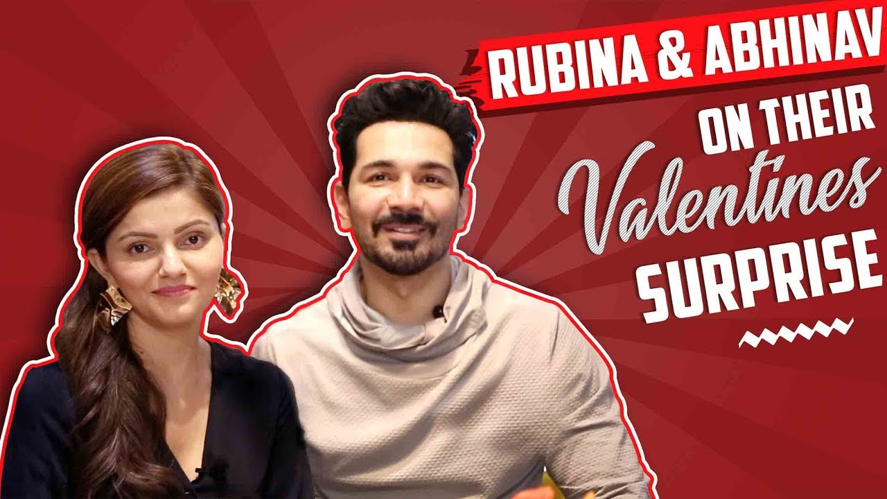 Rubina Dilaik And Abhinav Shukla Share About Their Music Video 'Amore' | Valentines Special