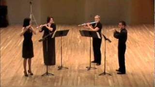 Frost Graduate Flute Quartet: Fictions for Four Flutes by Mike Mower