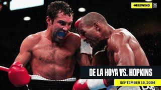 FULL FIGHT | Oscar De La Hoya vs. Bernard Hopkins (DAZN REWIND)