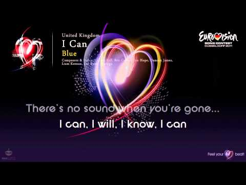 "Blue - ""I Can"" (United Kingdom) - [Karaoke version]"