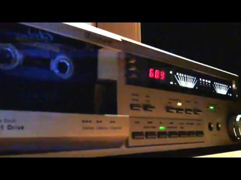 Dual C846 Stereo HiFi Cassette Deck in Double Speed Mode
