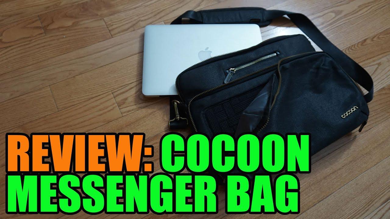 e5f6517420 Cocoon Messenger Bag Review - Urban Adventure Messenger Sling - YouTube