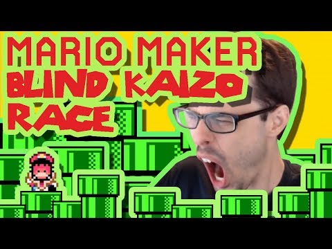 Mario Maker - Some Piping Hot Kaizo (w/ Eclipse Science!) | Blind Kaizo Race #22