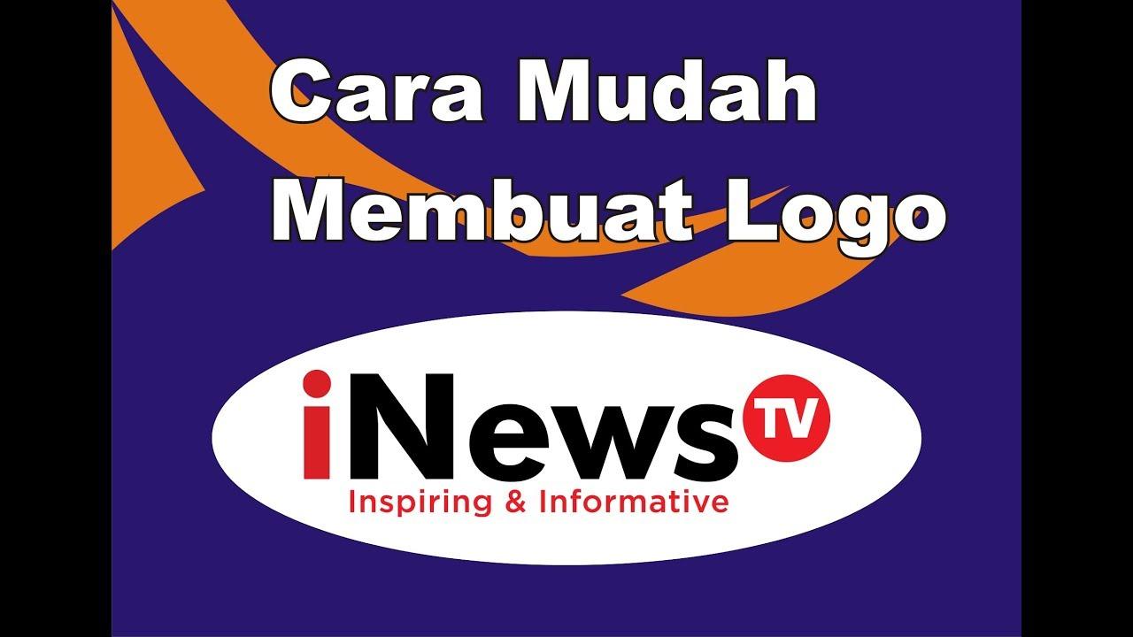 INews TV: Cara Mudah Membuat Logo INews TV Dengan Aplikasi CorelDraw