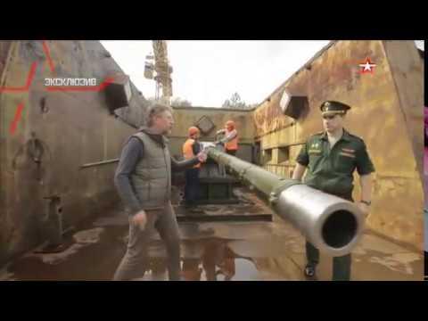 "Aleksey Egorov talks on tests for T-14 gun in ""Military Acceptance"" on ""Zvezda"" TV"