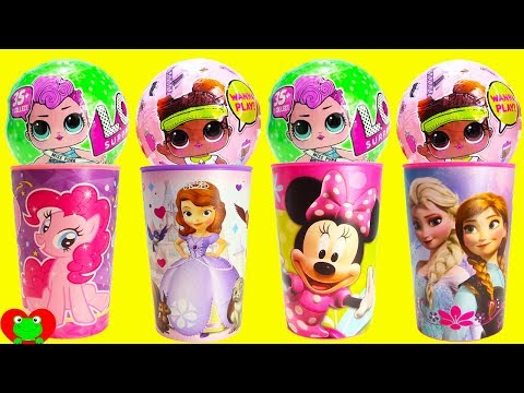 LOL Surprise Dolls And Lil Sisters Slime Surprises