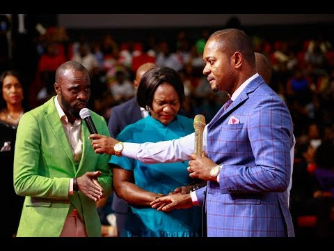 He had a prophetic encounter with Pastor Alph Lukau in his Dream