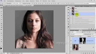 Урок Как с помощью выделения убрать красноту лица в фотошоп  Уроки фотошопа