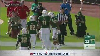 2015 Miami Beach Bowl Highlights - WKU 45, USF 35