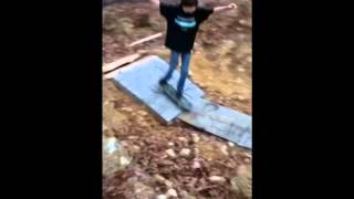 Homemade Skateboard Ramp!