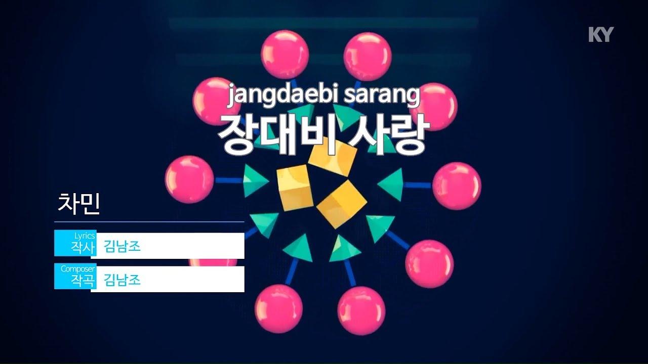 장대비사랑(원곡 차민) - 유선영 노래방 애창곡 1