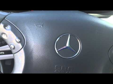 how to set clock in mercedes c230